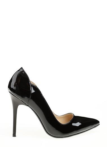 D by Divarese İnce Topuklu Ayakkabı Siyah